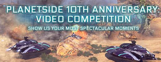 Concurso de videos del décimo aniversario de PlanetSide