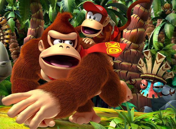 Donkey Kong Country Returns 3D llega al Nintendo 3DS