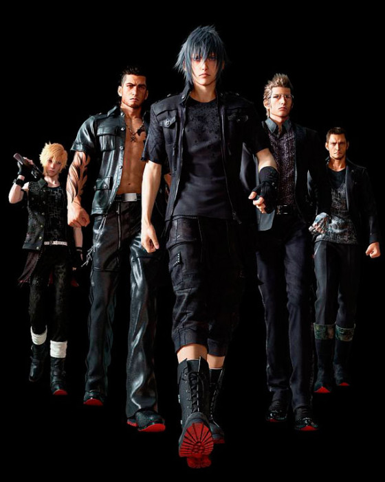 Square Enix revela detalles de los personajes de Final Fantasy XV