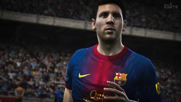 Los jugadores y los estadios cobran vida en FIFA 14