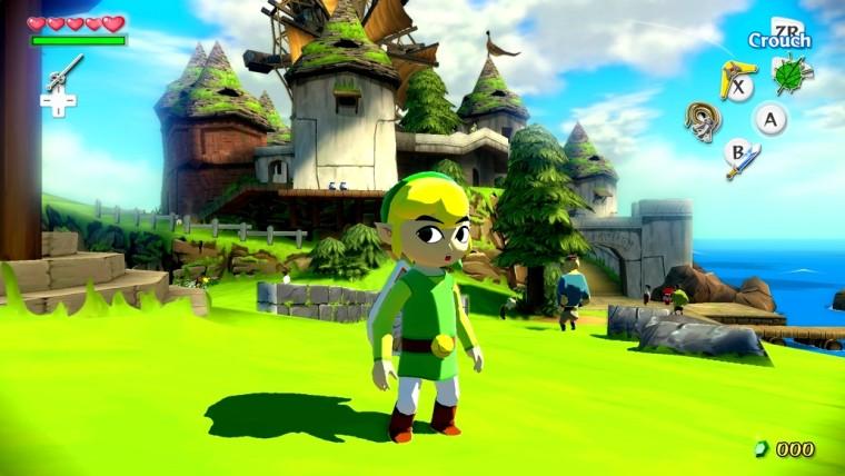 Zelda: Wind Waker HD llegará en octubre para Wii U