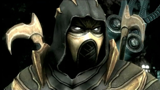 Scorpion de Mortal Kombat será un personaje jugable en Injustice: Gods Among Us