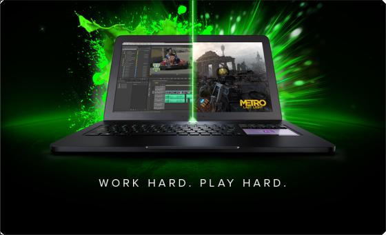 Razer presenta Blade Pro, su laptop diseñada para trabajar y Jugar