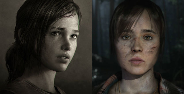 Ellen Page acusa a Naughty Dog de plagiar su apariencia en Beyond: Two Souls para The Last of Us
