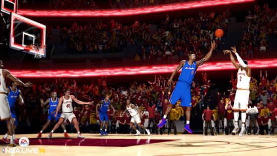 Toma el control de la duela este otoño con NBA Live 14