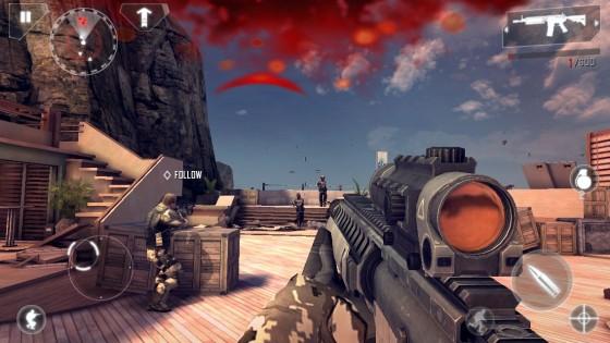 Modern Combat 4 presenta increíble actualización