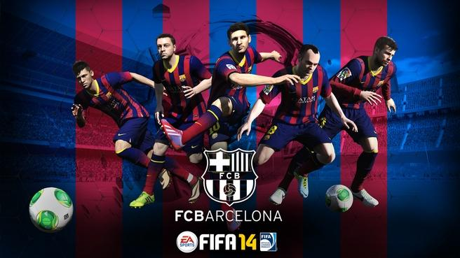 El F.C. Barcelona ya es socio oficial de Fifa 14