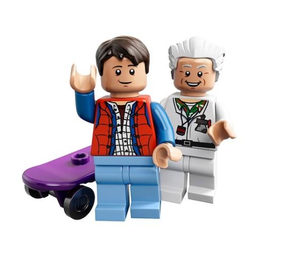 Comic-Con 2013: LEGO estrena playsets inspirados en Volver al Futuro
