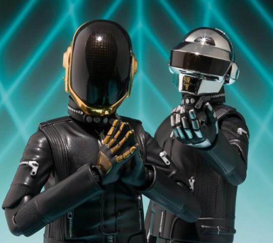 Daft Punk sacará a la venta su propia línea de figuras de acción.