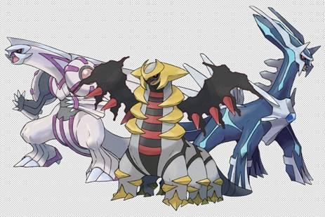 Para nuestros lectores de España: Consigue a Dialga, Palkia y Giratina en Pokémon X y Y