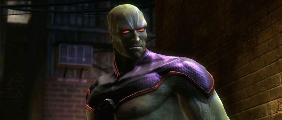 Martian Manhunter, el nuevo DLC para Injustice: Gods Among Us