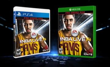 EA Sports revela la nueva portada de NBA Live 14