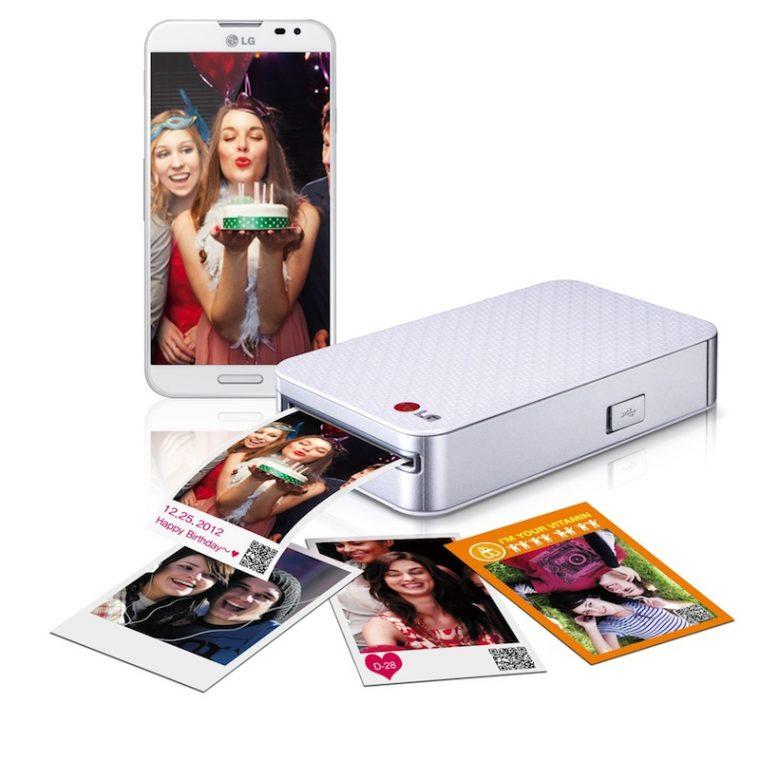 Imprime inalámbricamente y sin cartuchos de tinta, con Pocket Photo de LG
