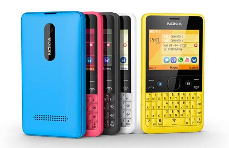 Nokia da a conocer Nokia Asha 210 en México