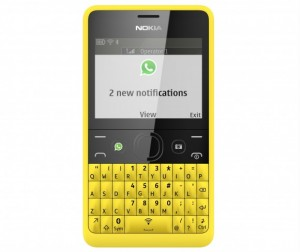 Nokia-Asha-210-Yellow_DualSIM_Whatsapp-580x489