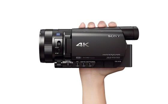 Sony reduce el tamaño de la videocámara 4K a un cuarto del modelo anterior