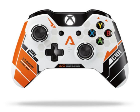 Microsoft estrenará un control conmemorativo de Titanfall para Xbox One