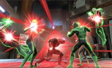 DC Universe Online brilla con la luz de los Linternas Rojas y Azules