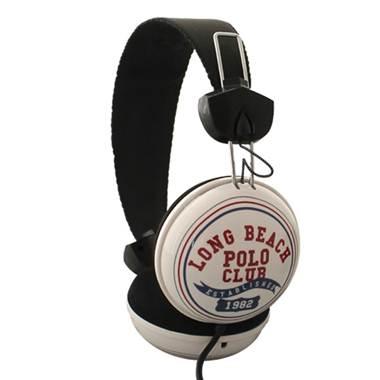 Escucha tu música con calidad estéreo con los Audífonos LONG BEACH POLO CLUB