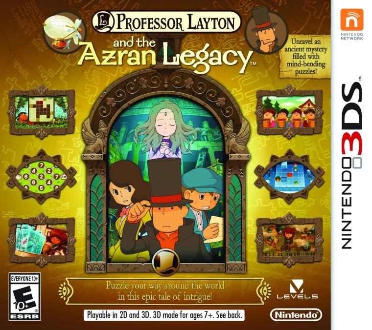 Professor Layton and the Azran Legacy es el capítulo final de la segunda trilogía de la serie