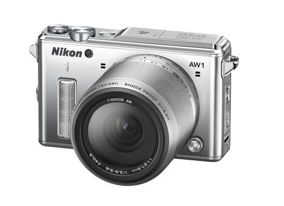Nikon 1 AW1 galardonada en CES 2014
