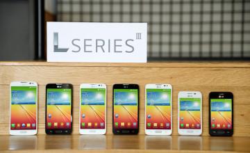 LG presenta la tercera generación de smartphones serle L en el MWC