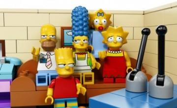 'Los Simpson' transmitirá un episodio completamente animado con piezas LEGO