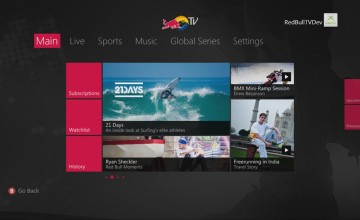 Red Bull TV y WWE Network traen acción electrizante a Xbox 360