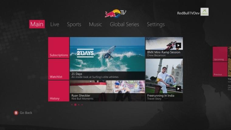 Red Bull TV y WWE Network traen acción electrizante a Xbox 360