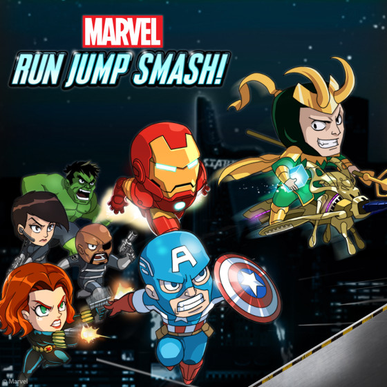 Marvel lanzó Marvel Run Jump Smash! a nivel mundial