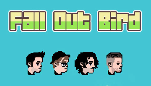 Flappy Bird á la Fall Out Boy