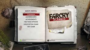 Ubisoft anuncia la llegada de Far Cry Classic