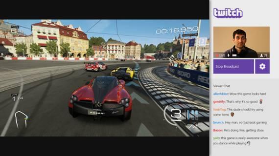 Presentando una verdadera experiencia Twitch de siguiente generación en Xbox One