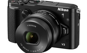 Nikon presenta la nueva cámara Nikon 1 V3 en conjunto con dos lentes de la familia 1 NIKKO
