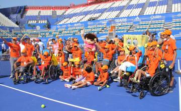 Nickelodeon inagura espacios infantiles en el Abierto Mexicano de Tenis