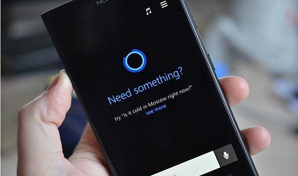 Primer vistazo a Cortana para Windows Phone