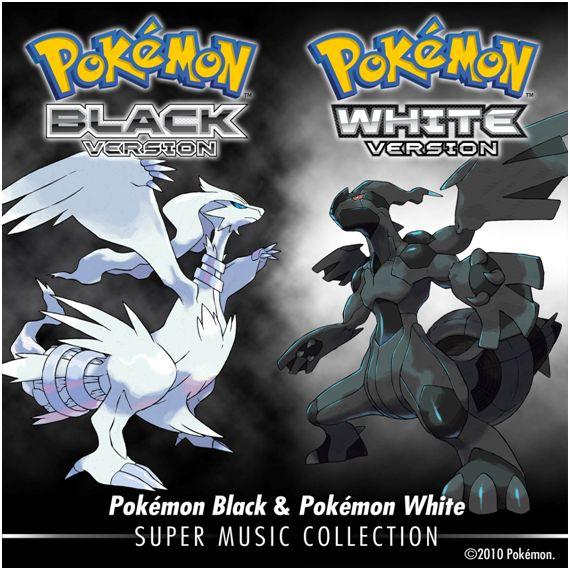 Pokémon Black & Pokémon White: Super Music Collection ya a la venta en iTunes
