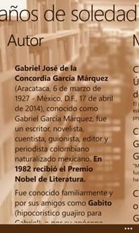 Nokia honra a Gabriel García Márquez y ofrece la aplicación gratuita del libro 1oo Años de Soledad