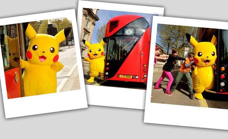¿Cómo meterías a Pikachu en un autobús?