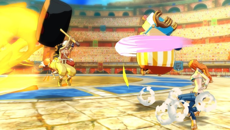 Nuevo Modo de Batalla en Coliseo de ONE PIECE Unlimited World Red