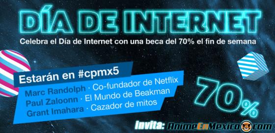 #AnimeEnMexico celebra el Día del Internet