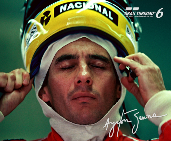 Polyphony Digital hace homenaje a Ayrton Senna