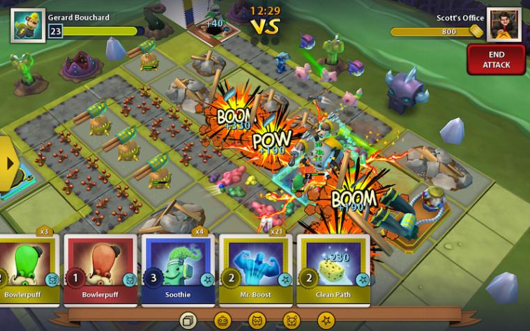 Colecciona, defiende, ataca: Toy Rush se lanza para iOS