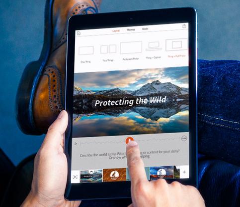 Todos a crear videos desde el iPad con Adobe Voice