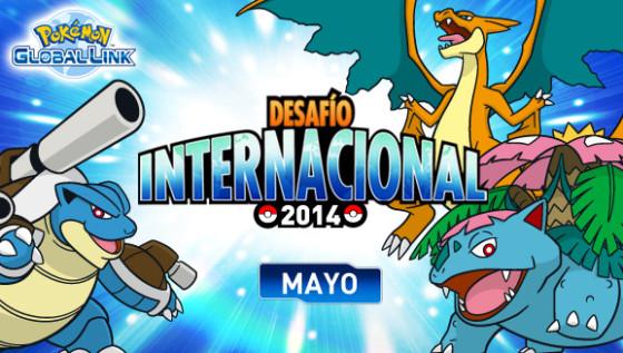 Pokémon anuncia el Desafío Internacional de mayo de 2014