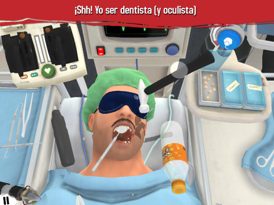 Surgeon Simulator para iPad renace con una nueva actualización