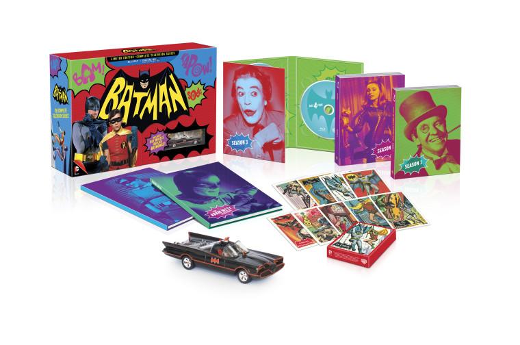Se anuncia Batman: La Serie Completa de Televisión, edición limitada