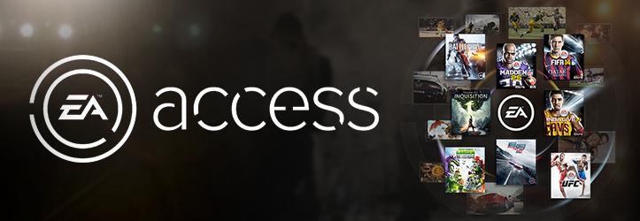 Se Anuncia EA Access para XboxOne