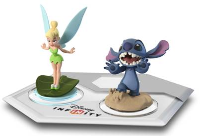 Tinkerbell y Stitch se unen a Disney Infinity
