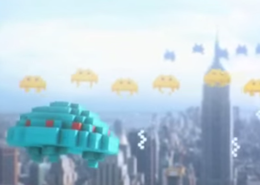 Muchos videojuegos clásicos en la próxima película «Pixels»